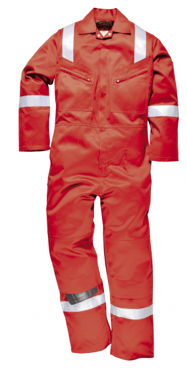PORTWEST FR50 - FLAME RESISTANT ANTI-STATIC COVERALL 350GM